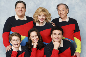 The cast of The Goldbergs